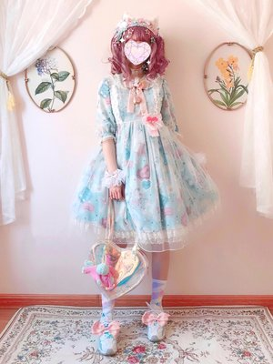 Aoi's 「Angelic pretty」themed photo (2019/04/01)