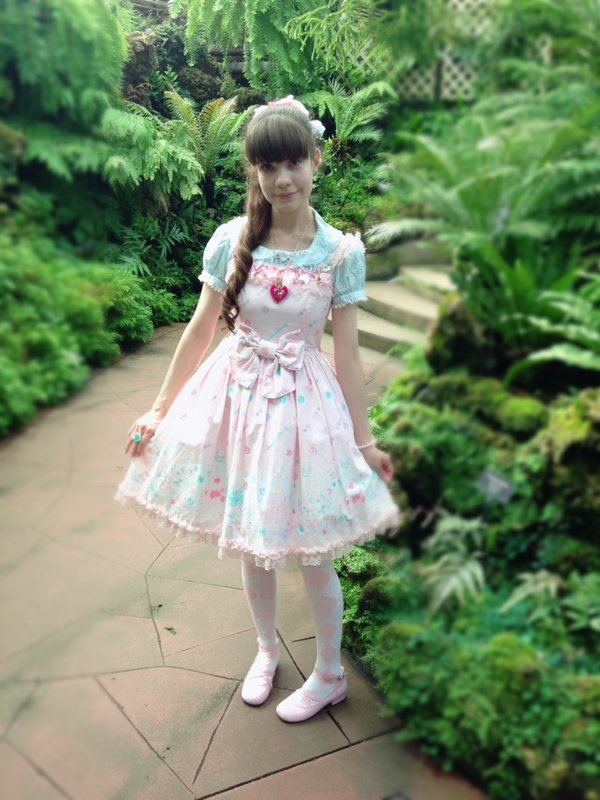 Alice's 「Angelic pretty」themed photo (2017/05/30)