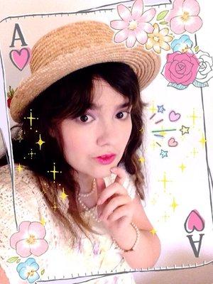 ローズ姫の「Angelic pretty」をテーマにしたコーディネート(2016/07/14)