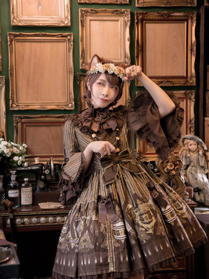 SINA's 「Angelic pretty」themed photo (2019/04/18)