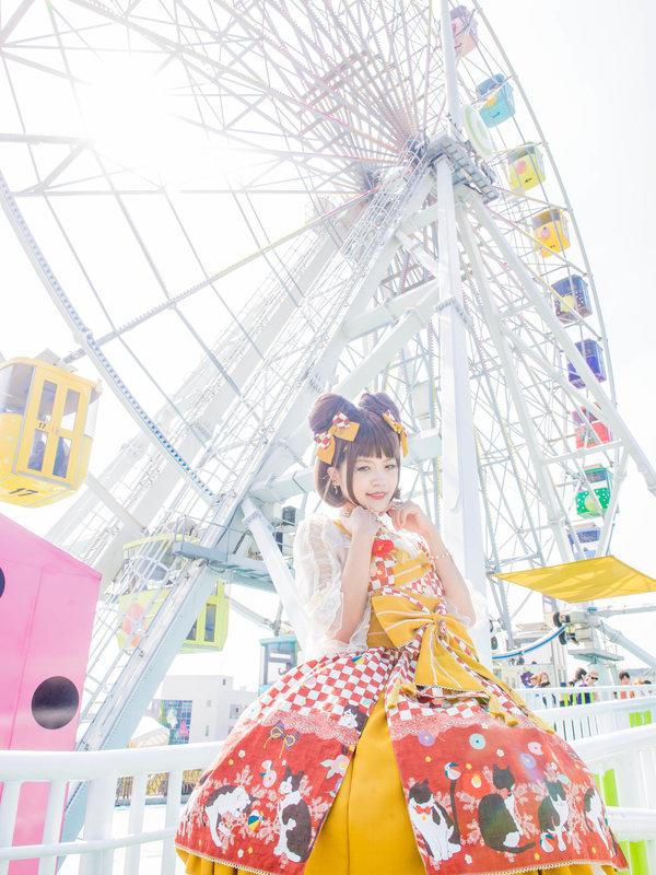 是林南舒以「Lolita fashion」为主题投稿的照片(2019/04/19)