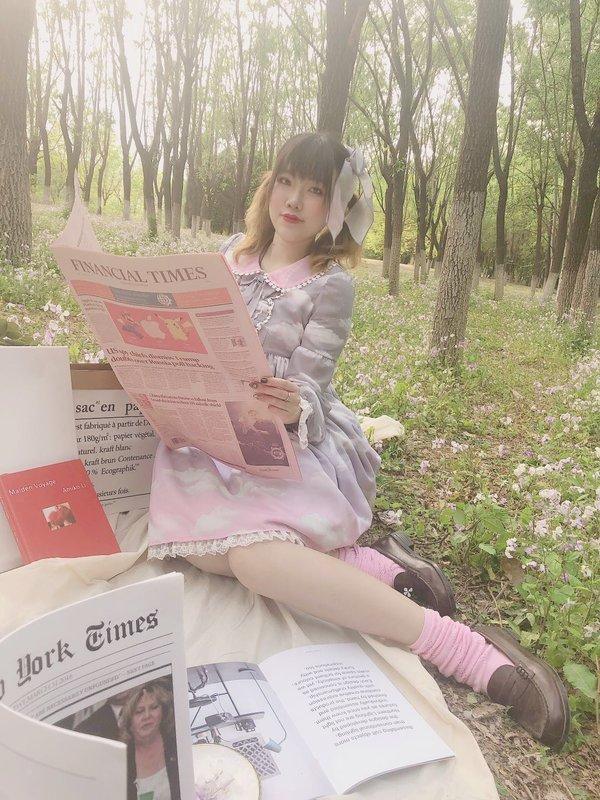 司马小忽悠の「ゆめかわいい」をテーマにしたコーディネート(2019/04/19)