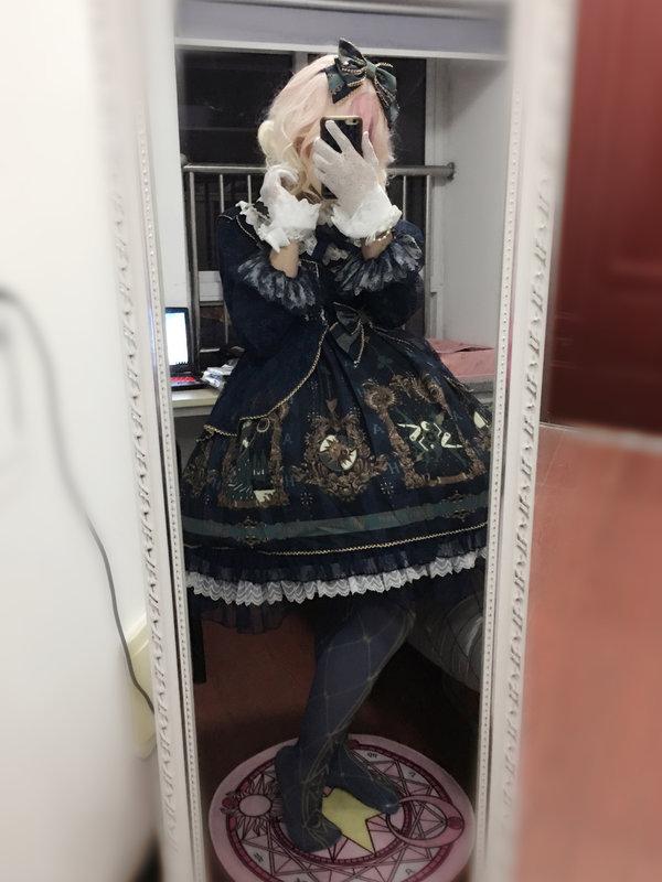 透明雨中曲の「Lolita」をテーマにしたコーディネート(2019/04/21)