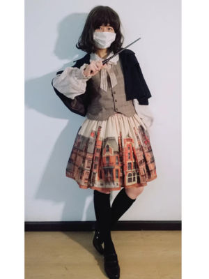 汐顔's 「Lolita」themed photo (2019/04/22)