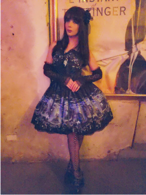 Eugenia Salinas's 「Lolita fashion」themed photo (2019/04/23)
