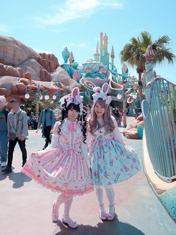 モヨコの「Lolita fashion」をテーマにしたコーディネート(2019/04/26)