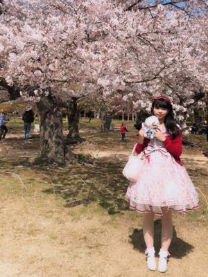 是Saki以「Lolita fashion」为主题投稿的照片(2019/04/30)