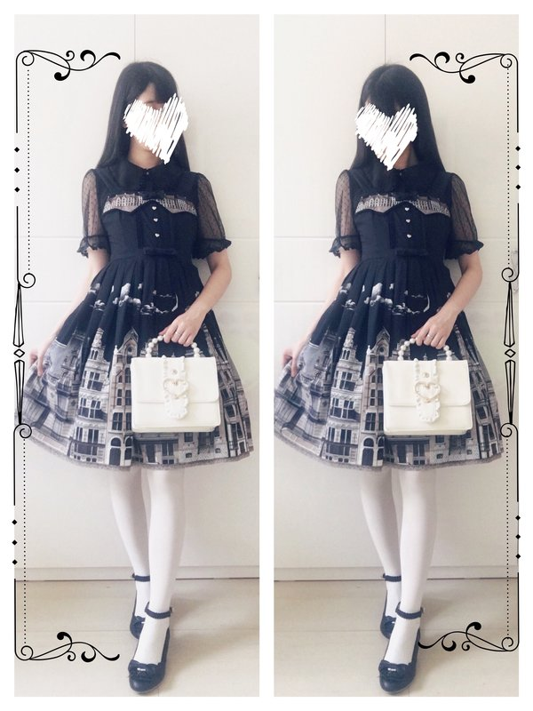 Hitomiの「Classical Lolita」をテーマにしたコーディネート(2017/06/01)