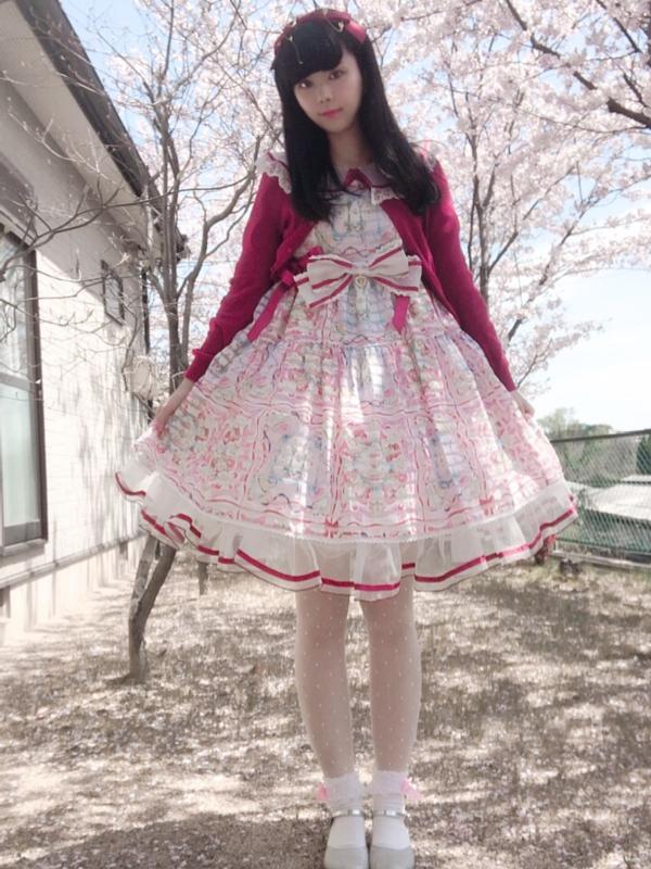 Sakiの「Lolita fashion」をテーマにしたコーディネート(2019/04/30)