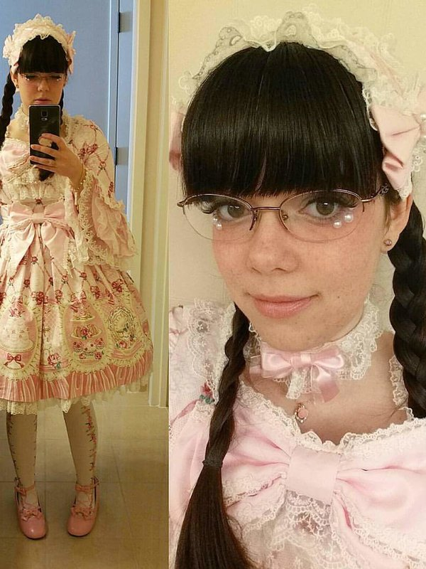 Jessie-Kate's 「Angelic pretty」themed photo (2017/06/02)