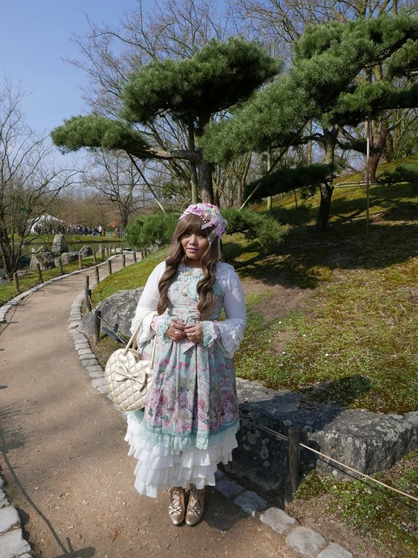 Soonji's 「Angelic pretty」themed photo (2019/05/23)
