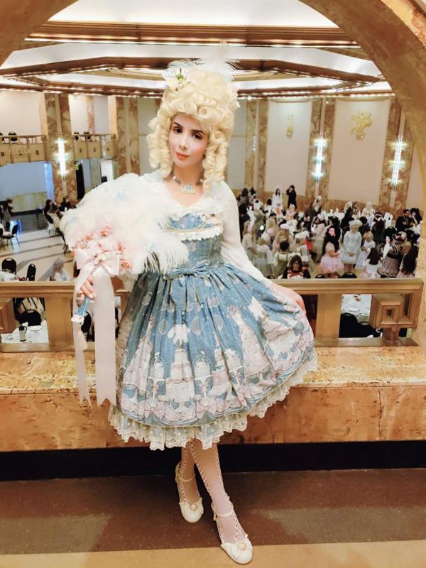 Eugenia Salinas's 「Lolita」themed photo (2019/06/03)