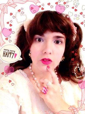 ローズ姫の「Sweet lolita」をテーマにしたコーディネート(2016/07/14)