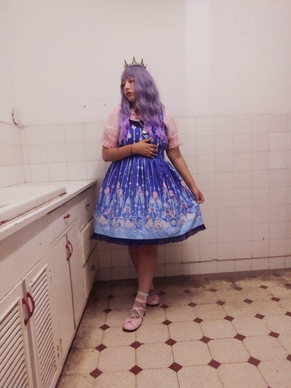 Vanessa Huaytan's 「Lolita fashion」themed photo (2019/06/19)
