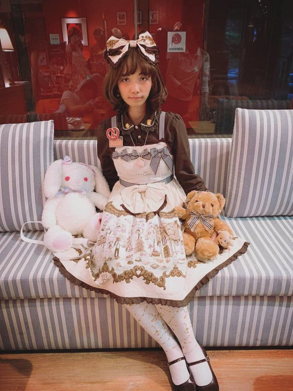 Xiao Yu's 「Lolita」themed photo (2019/06/23)