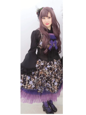 Eva's 「Gothic Lolita」themed photo (2019/06/30)