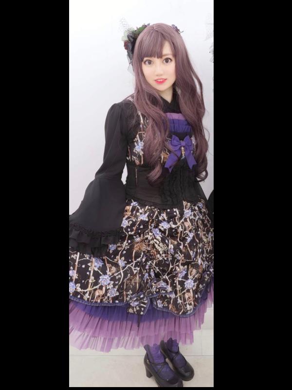 Evaの「Gothic Lolita」をテーマにしたコーディネート(2019/06/30)