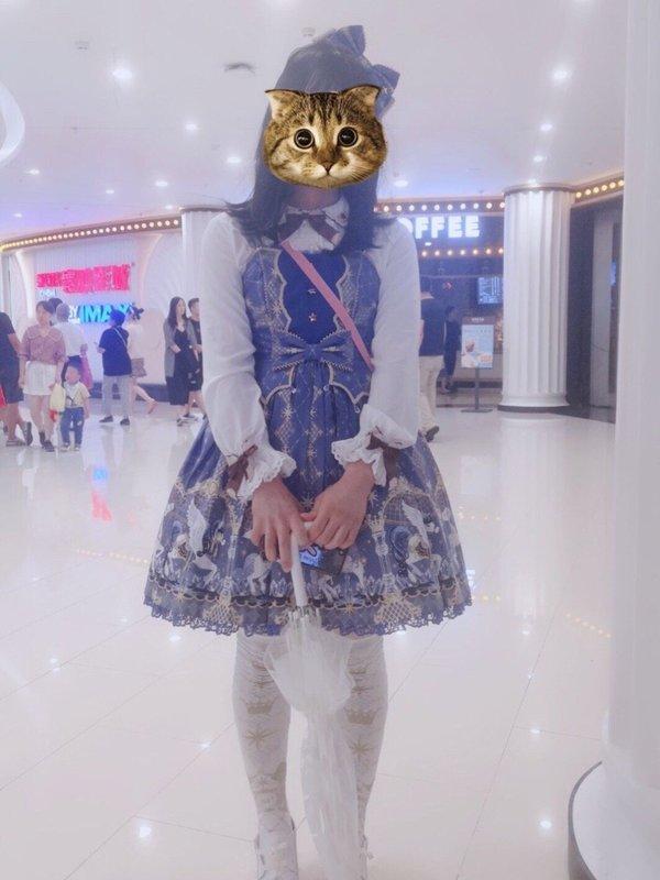 透明雨中曲の「Lolita」をテーマにしたコーディネート(2019/06/30)
