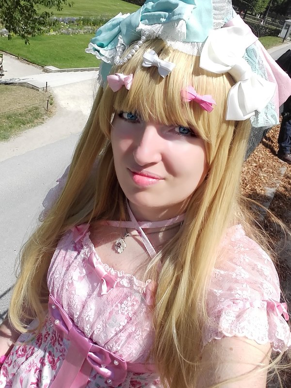 Lina Nekolita's 「Angelic pretty」themed photo (2019/07/07)