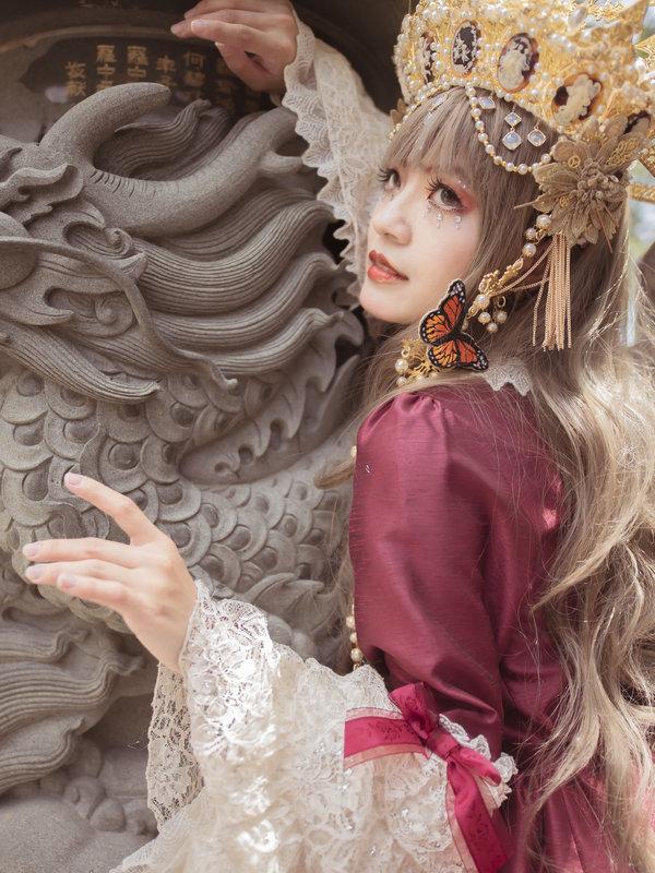 是林南舒以「Lolita fashion」为主题投稿的照片(2019/07/15)