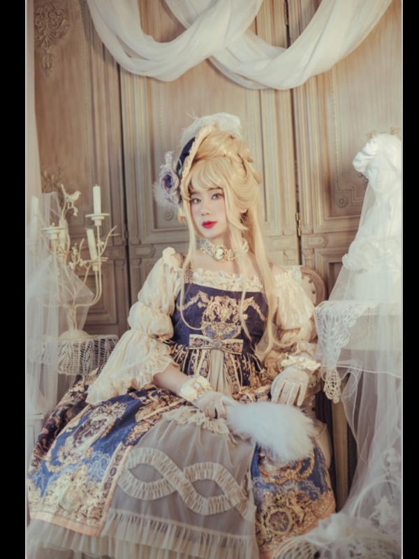 深山律师事务所雪泣泣の「classic-lolita」をテーマにしたコーディネート(2019/08/04)