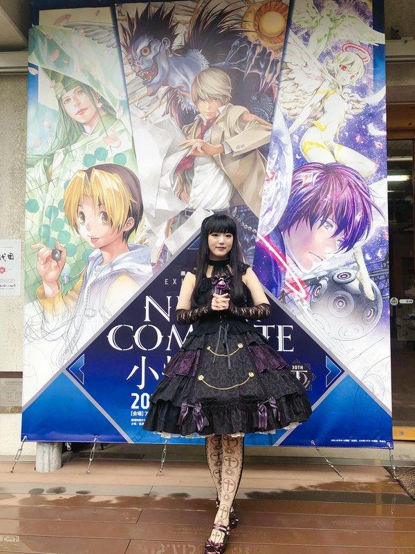 舞の「Lolita fashion」をテーマにしたコーディネート(2019/08/09)