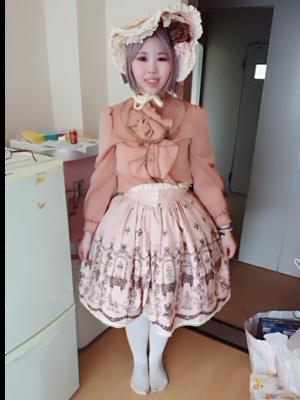 mel(める)の「Classic Lolita」をテーマにしたコーディネート(2019/08/29)