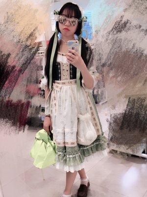 玉子&琴子の「阿尔卑斯少女」をテーマにしたコーディネート(2017/06/04)