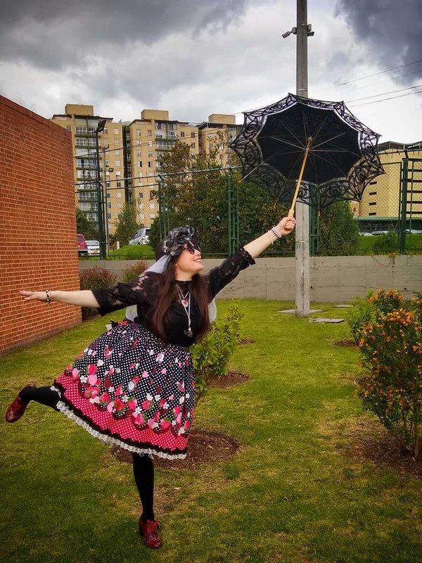L chanの「Lolita」をテーマにしたコーディネート(2019/09/09)