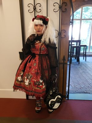 Soonji's 「Lolita fashion」themed photo (2019/09/12)