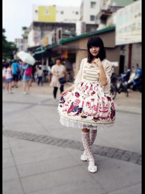 林南舒の「Sweet lolita」をテーマにしたコーディネート(2019/09/24)