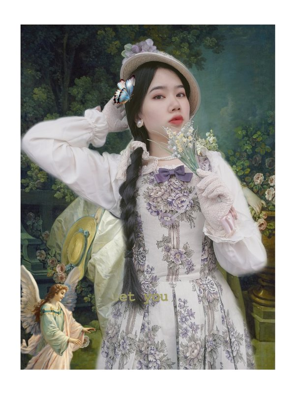 深山律师事务所雪泣泣の「Classic Lolita」をテーマにしたコーディネート(2019/10/07)