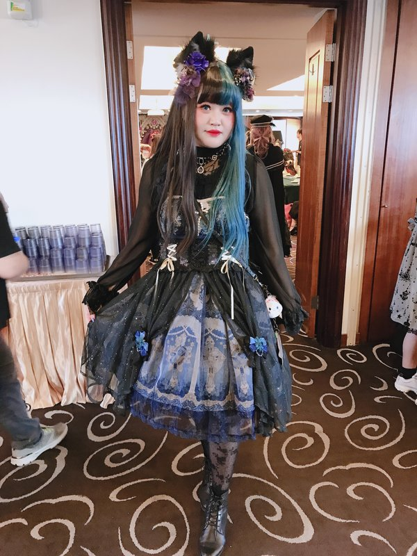 Kalilo Cat's 「Lolita fashion」themed photo (2019/10/20)