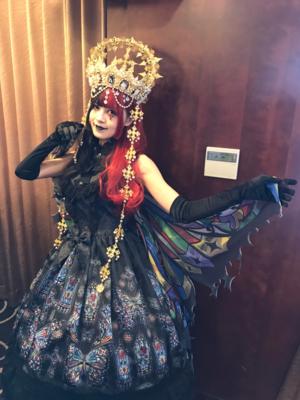 林南舒の「Lolita fashion」をテーマにしたコーディネート(2019/10/21)