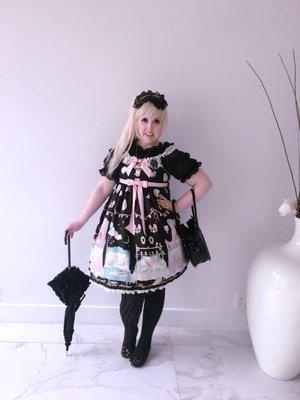 Lulu Couture の「Angelic pretty」をテーマにしたコーディネート(2017/06/05)