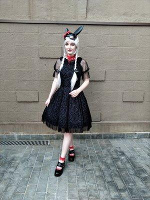 Annah Helの「Gothic Lolita」をテーマにしたコーディネート(2019/11/08)