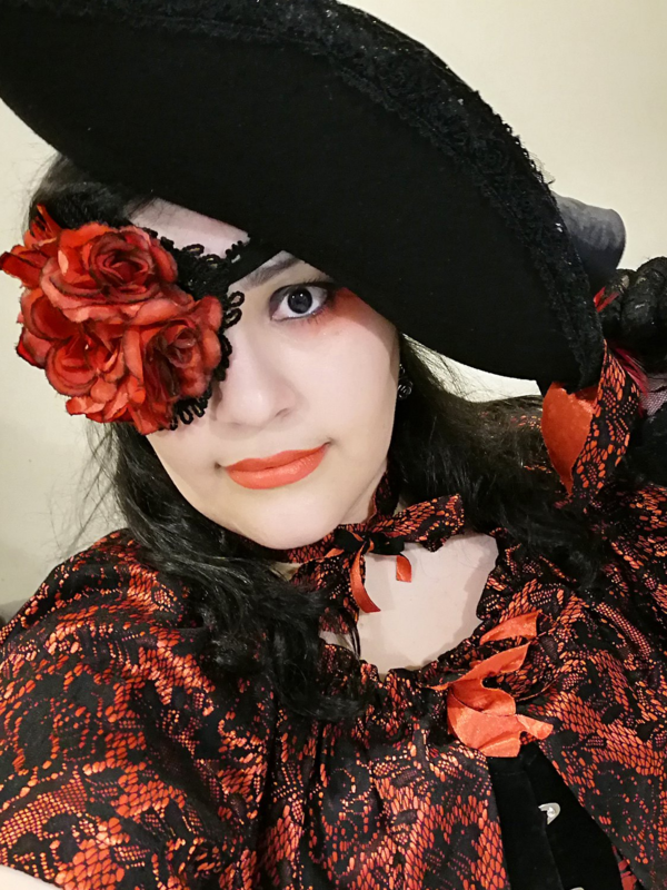 Bara No Hime's 「pirate lolita」themed photo (2019/11/09)