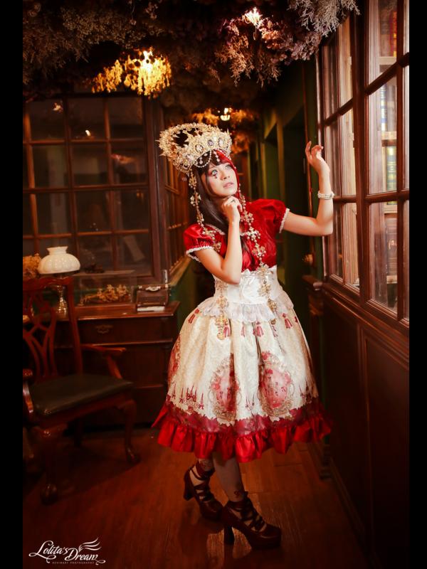 是林南舒以「Lolita fashion」为主题投稿的照片(2019/11/11)