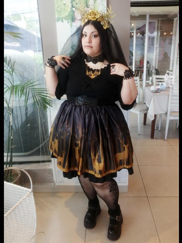 Bara No Himeの「Lolita fashion」をテーマにしたコーディネート(2019/12/26)