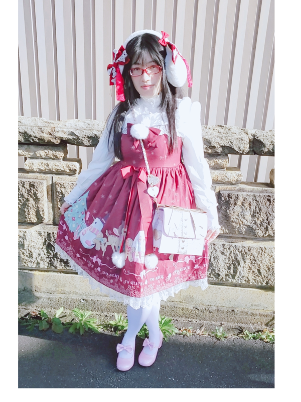 mococorin's 「Lolita」themed photo (2019/12/30)