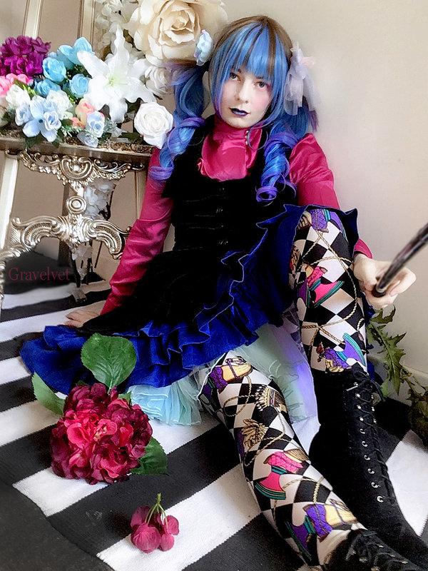 Gravelvetの「Lolita fashion」をテーマにしたコーディネート(2020/01/26)