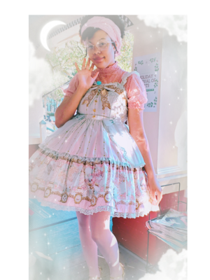 Star's 「Angelic pretty」themed photo (2020/01/29)