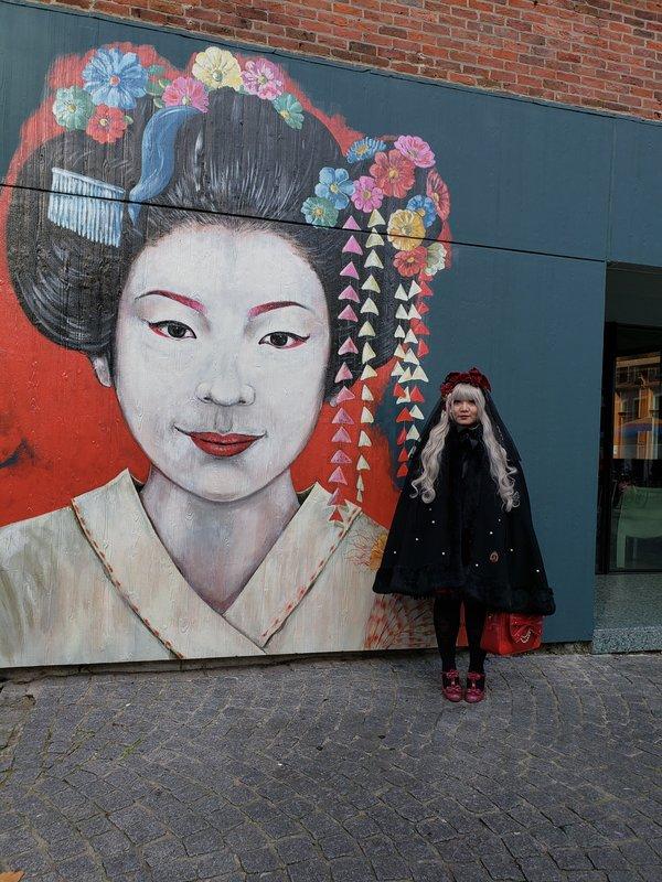 Soonji's 「winter lolita」themed photo (2020/02/14)
