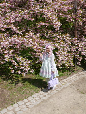 Soonji's 「Lolita fashion」themed photo (2020/03/05)