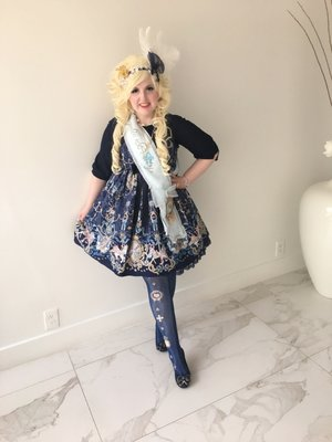 Lulu Couture の「Angelic pretty」をテーマにしたコーディネート(2017/06/07)
