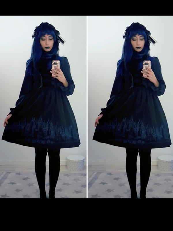 Fortune Tea Ladyの「Lolita fashion」をテーマにしたコーディネート(2020/03/09)