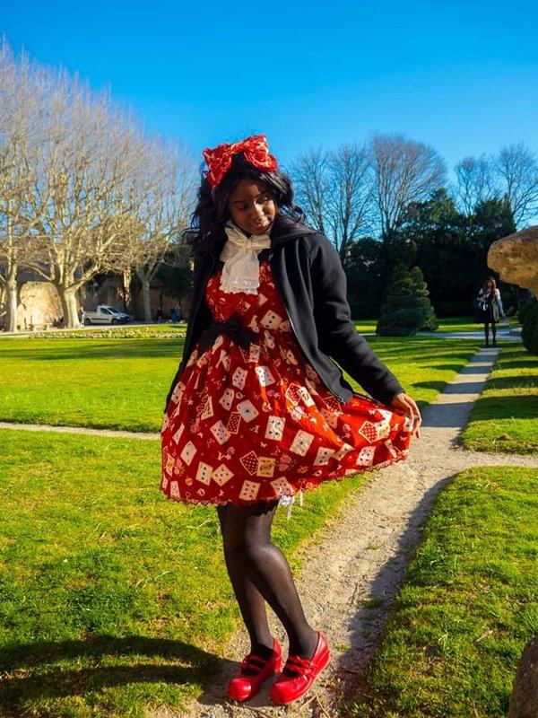 Yû Euphoria の「Lolita」をテーマにしたコーディネート(2020/03/09)