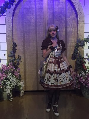 Candybowsの「international lolita day」をテーマにしたコーディネート(2017/06/08)