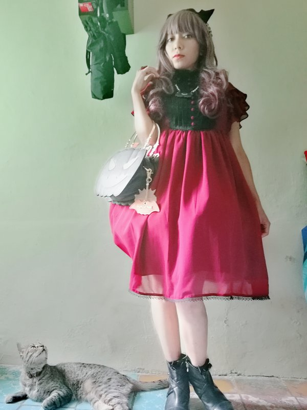 Lizbeth ushineki's 「Lolita」themed photo (2020/04/21)
