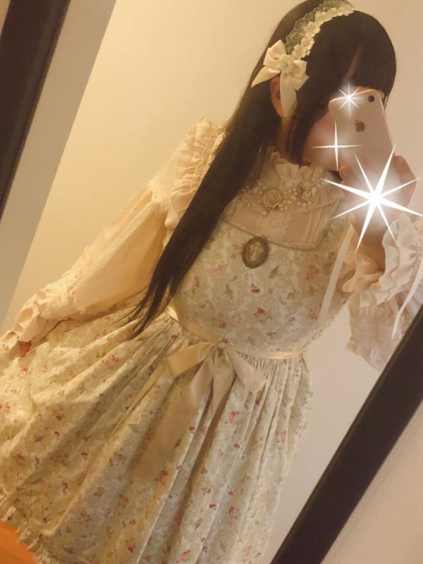 夜半の「Lolita」をテーマにしたコーディネート(2020/05/12)